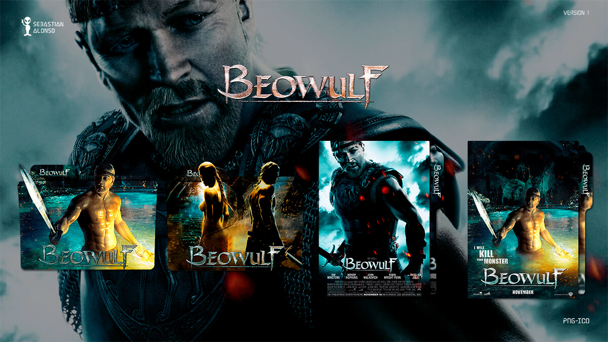 Beowulf (2007) Folder Icon by sebasmgsse