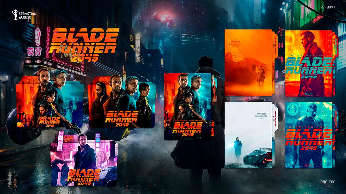 Blade Runner 2049 (2017) Folder Icon by sebasmgsse