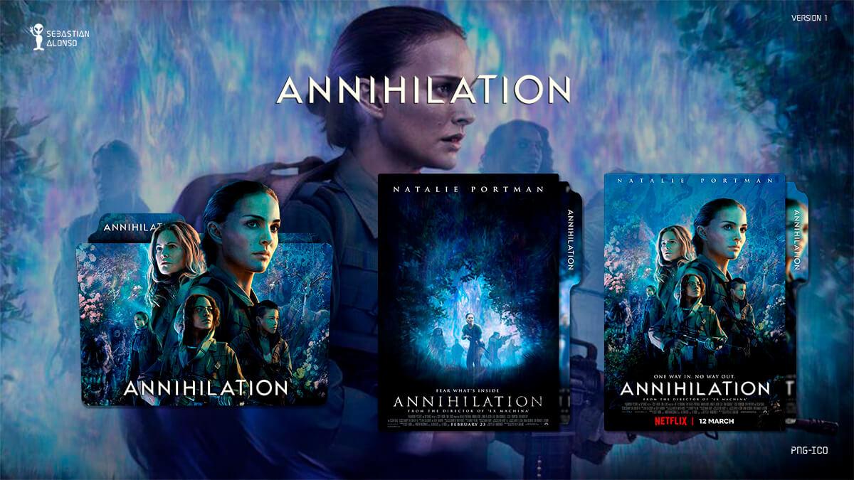 Annihilation (2018) Folder Icon by sebasmgsse