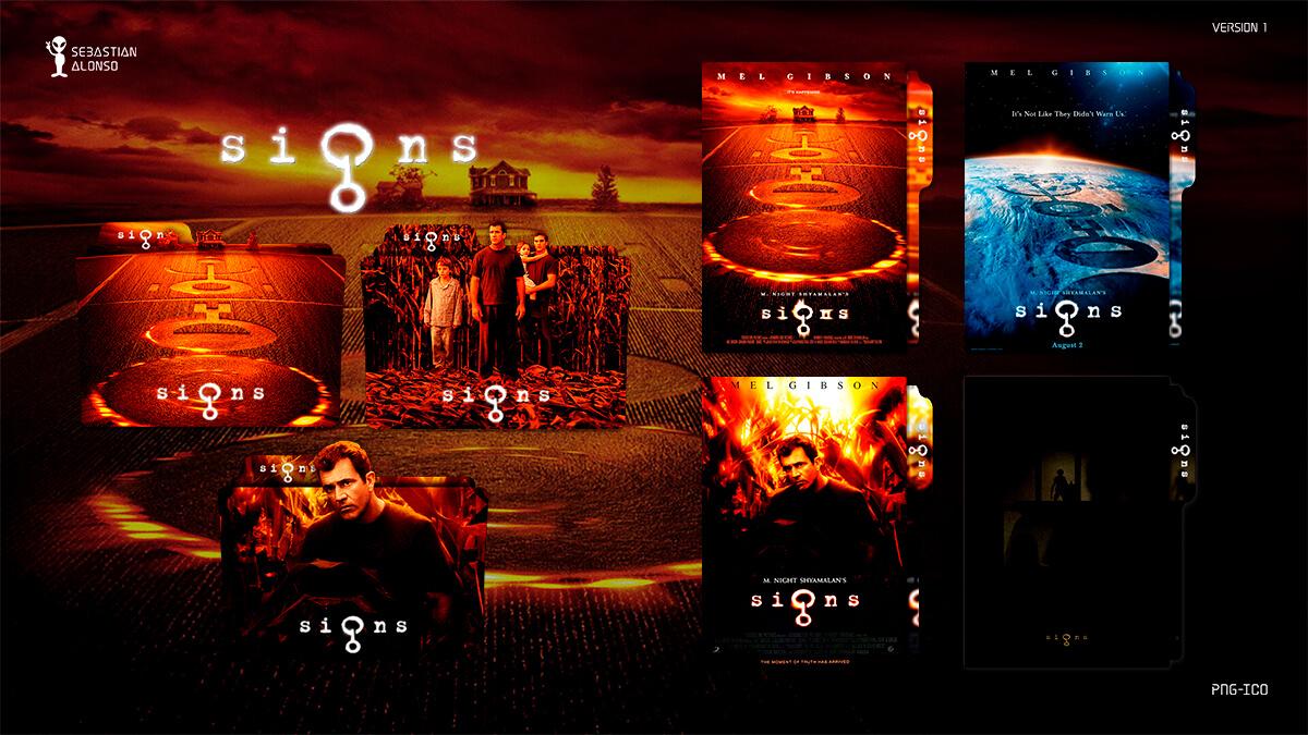 Signs (2002) Folder Icon by sebasmgsse