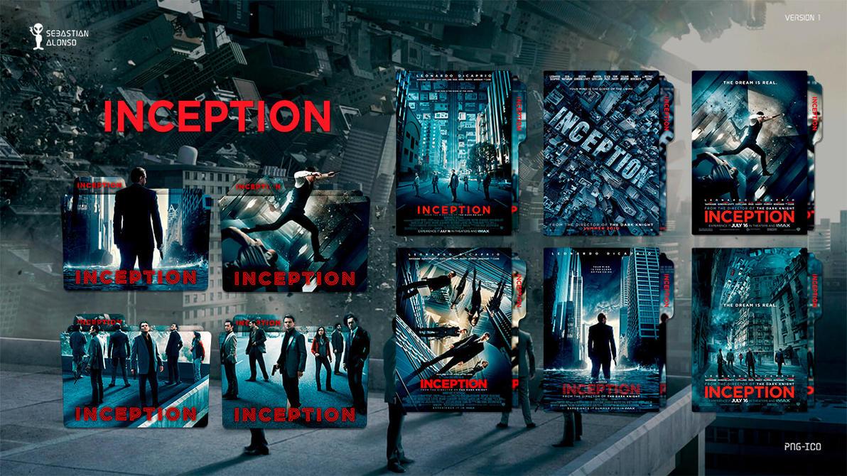 Inception (2010) Folder Icon #1 by sebasmgsse