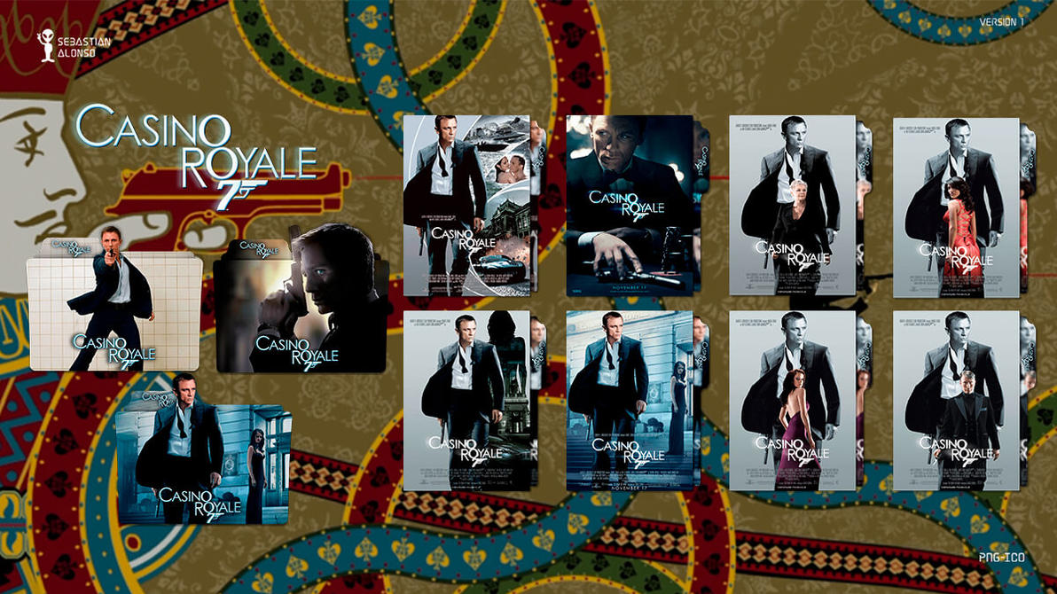 007 Casino Royale (2006) Folder Icon by sebasmgsse