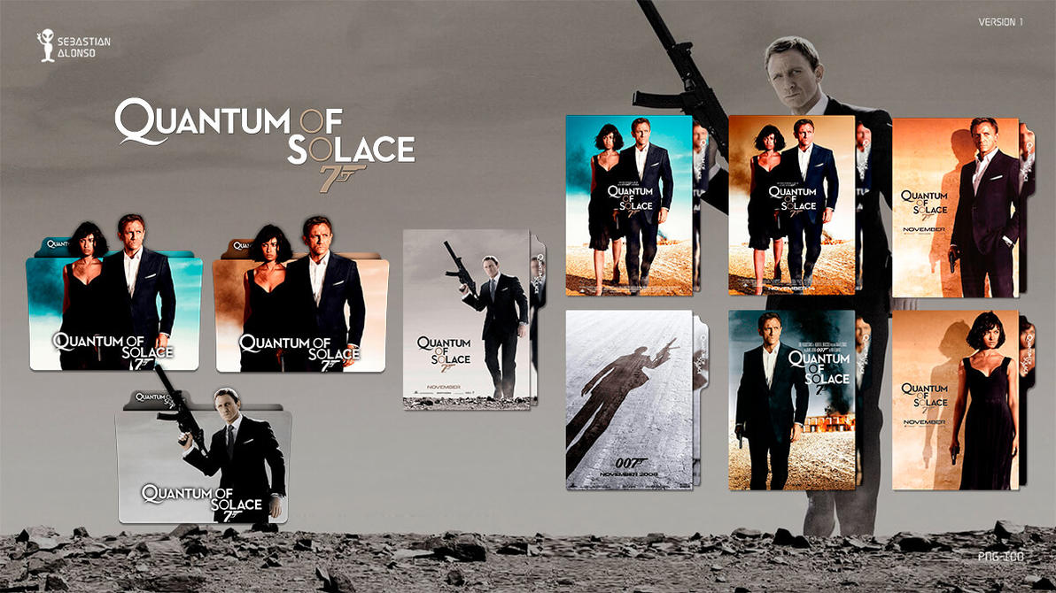 007 Quantum of Solace (2008) Folder Icon by sebasmgsse