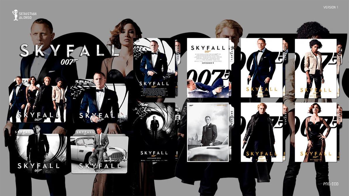 007 Skyfall (2012) Folder Icon by sebasmgsse