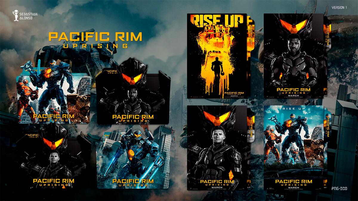 Pacific Rim Uprising (2018) Folder Icon #1 by sebasmgsse