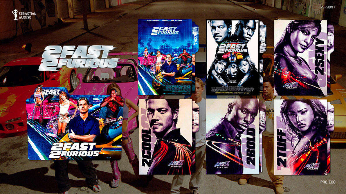 2 Fast Furious 2003 Folder Icon By Sebasmgsse