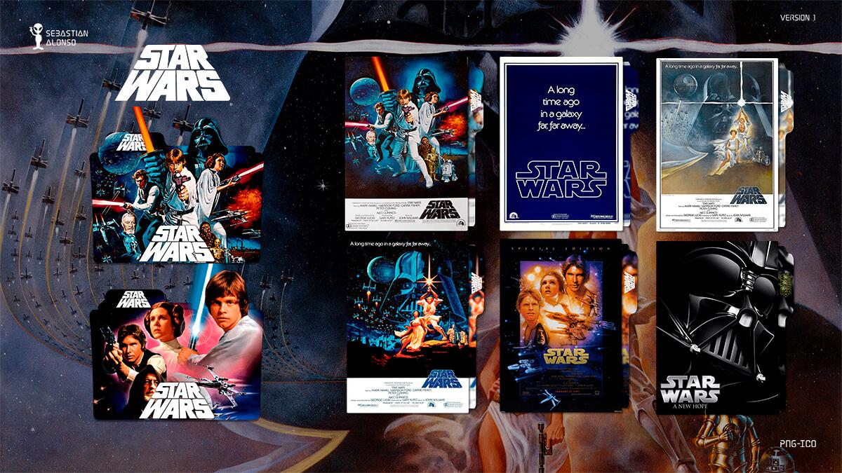 Star Wars (1977) Folder Icon by sebasmgsse