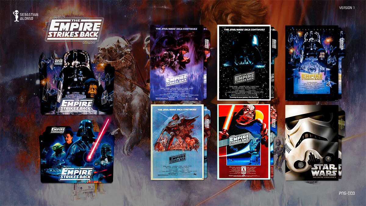 The Empire Strikes Back (1980) Folder Icon by sebasmgsse