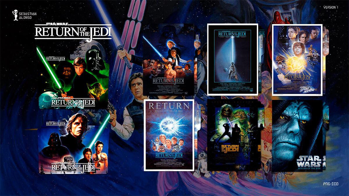 Return of the Jedi (1983) Folder Icon by sebasmgsse