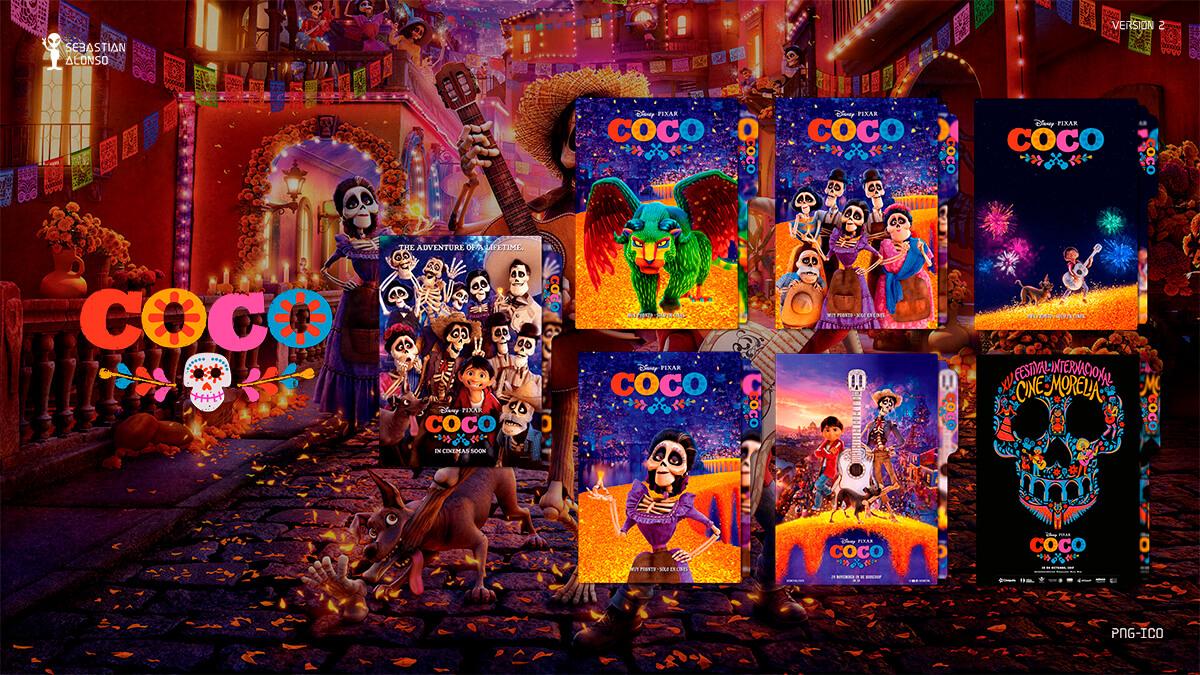Coco (2017) Folder Icon #2 by sebasmgsse
