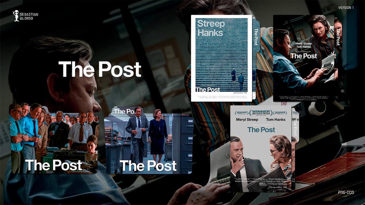 The Post (2017) Folder Icon by sebasmgsse