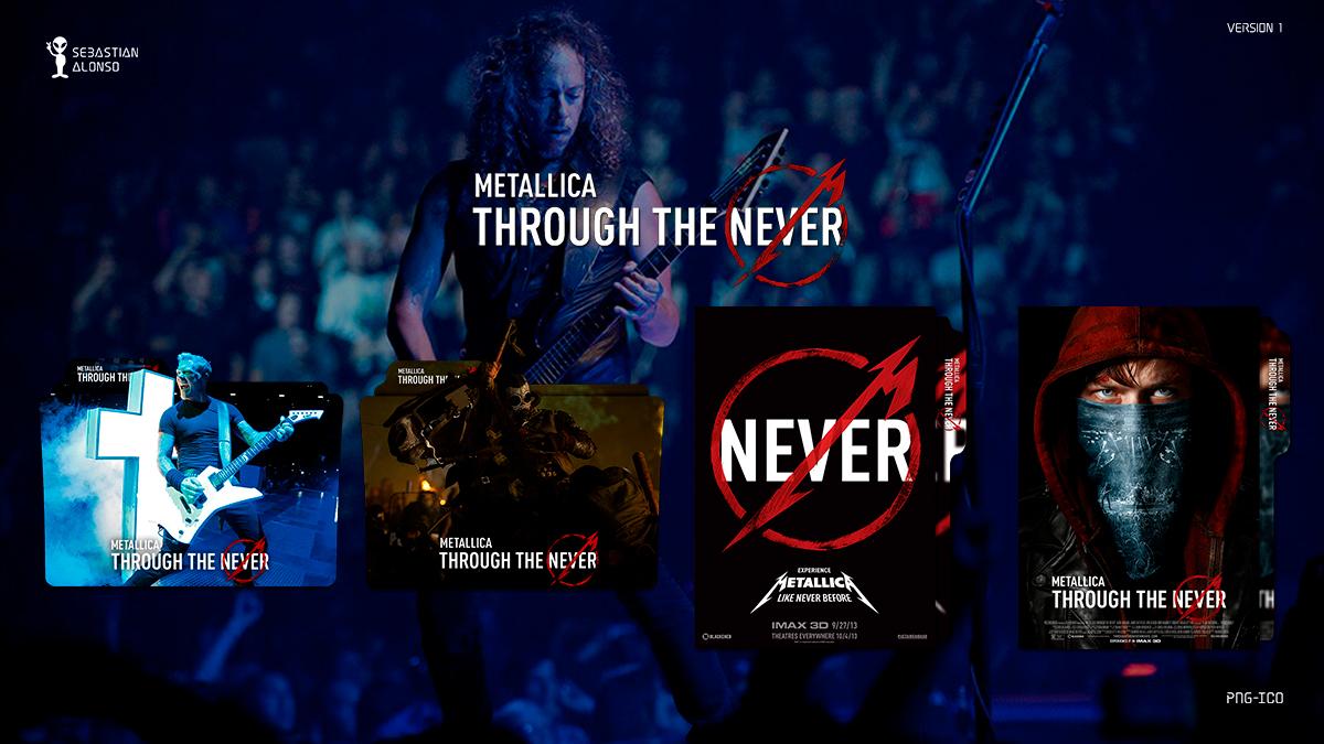 Metallica Through the Never (2013) Folder Icon by sebasmgsse
