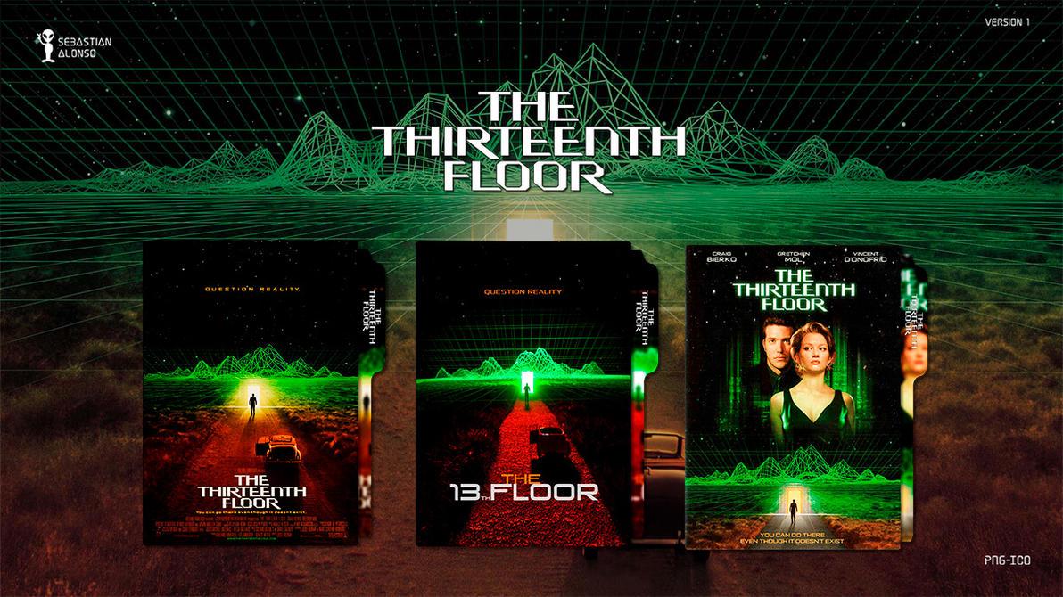 The Thirteenth Floor (1999) Folder Icon #1 by sebasmgsse