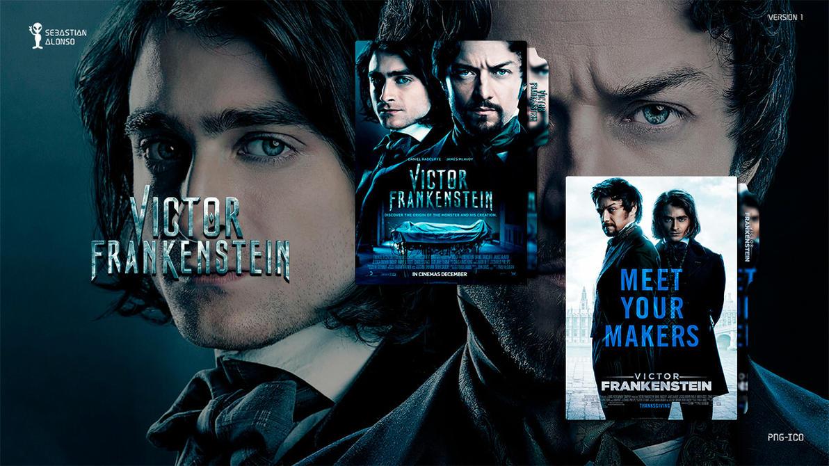 Victor Frankenstein (2015) Folder Icon #1 by sebasmgsse
