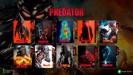 The Predator (2018) Folder Icon by sebasmgsse