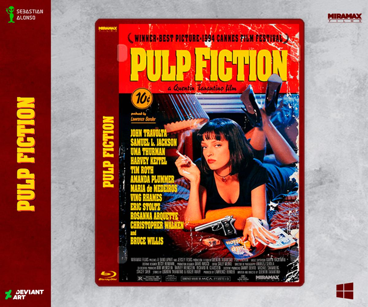 Pulp Fiction 1994 By Sebasmgsse On Deviantart