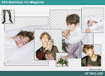 [SHARE PNGs] Baekhyun #3 5P Vivi Magazine @EXO