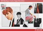 [SHARE PNGs] Baekhyun#4 l'uomo Vogue December@EXO