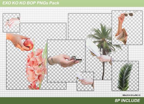 [SHARE PNGs] The War #Ko Ko Bop Pngs Pack @EXO