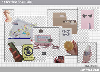 [SHARE PNGs] IU  #Palette @Pngs Pack