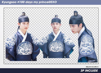[SHARE PNGs] Kyungsoo #100daysmyprince render @EXO by SuzyKimJaeXi