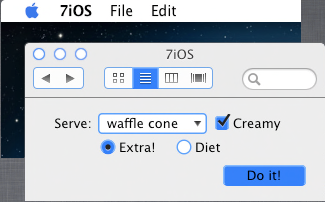 7iOS style for Flavours