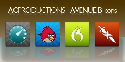 AVENUE B icons - iPhone 4 by anxanx