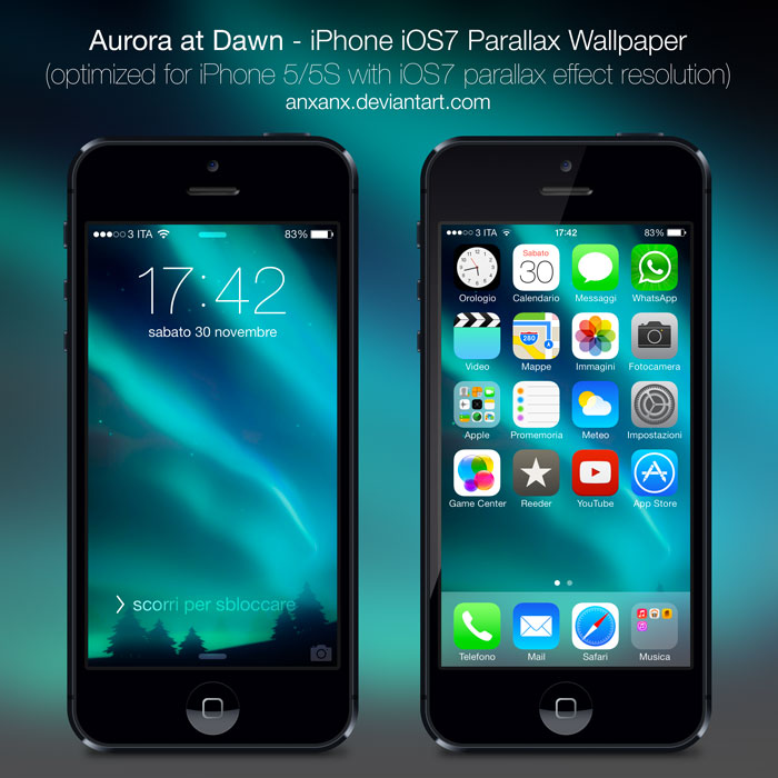 IPhone 5/5S IOS7 Wallpaper By Anxanx On