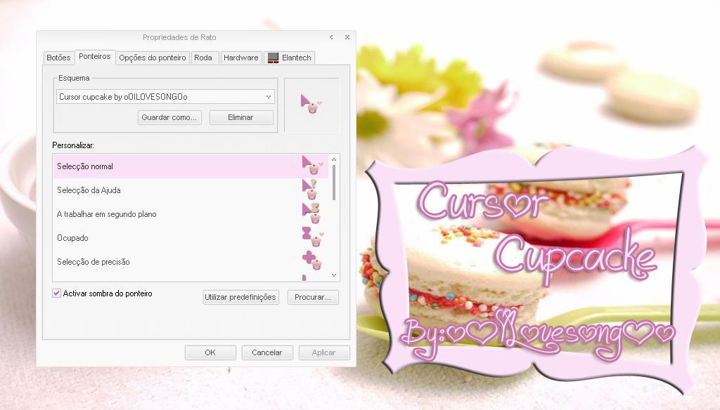 Cursor cupcake by oOILOVESONGOo