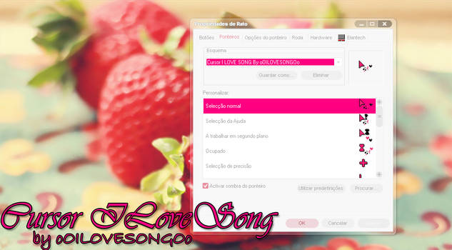 Cursor I LOVE SONG