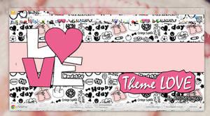 Theme for Google Chrome LOVE