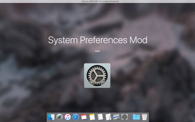 System Preferences For OS X El Capitan