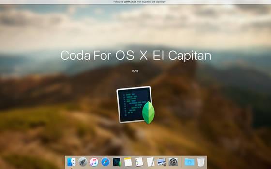 Coda For OS X El Capitan