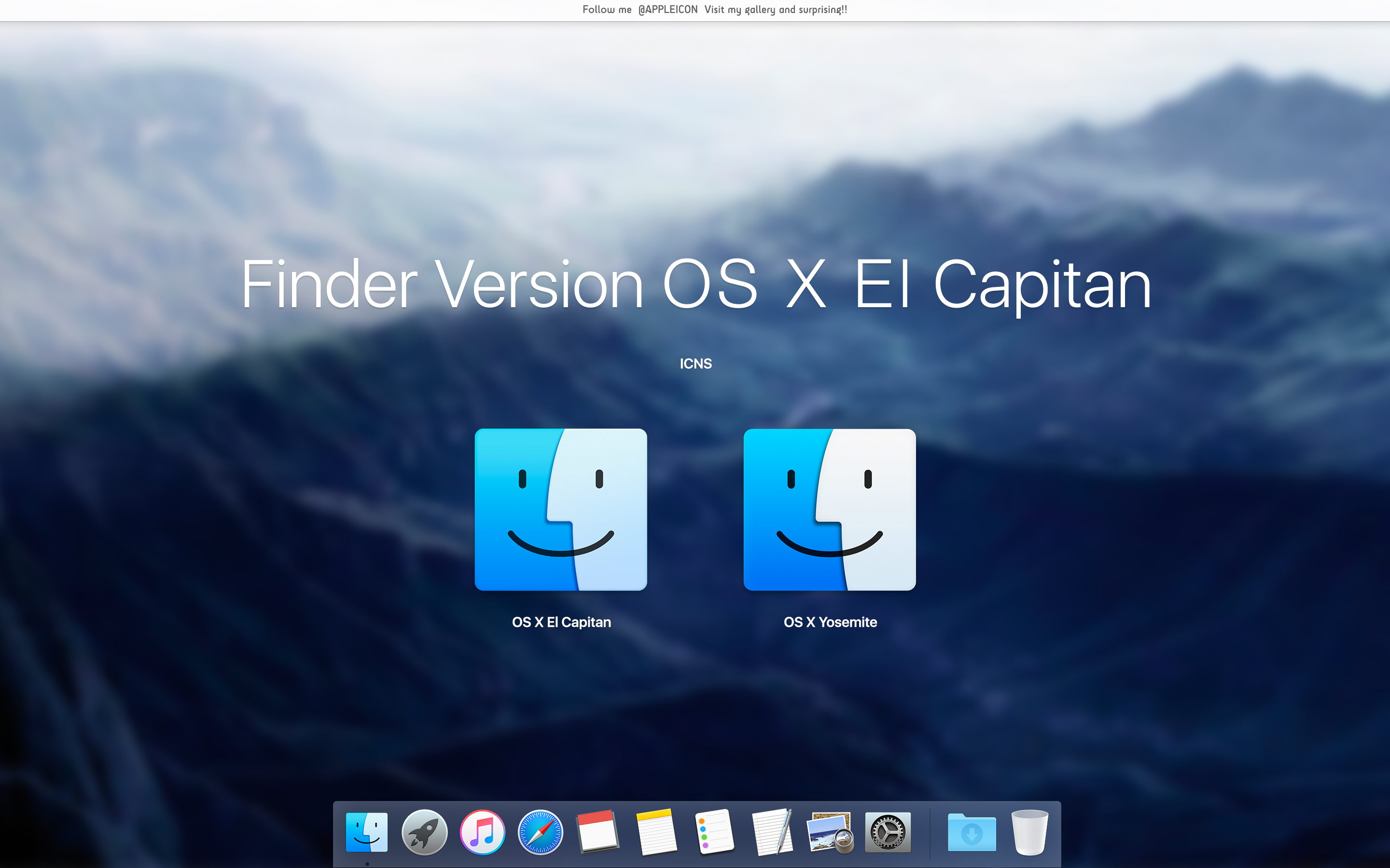 Finder Version OS X EL Capitan by MaxColins on DeviantArt