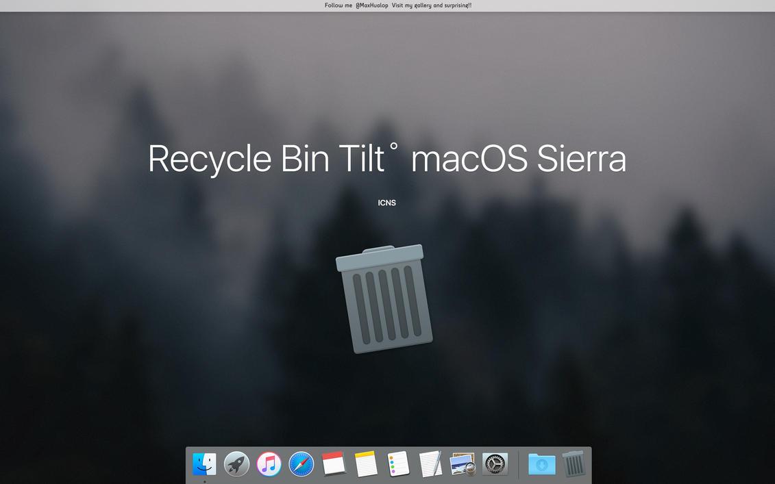 Mac recycle bin
