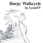 Harpy Walkcycle