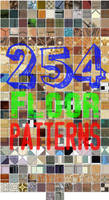254 Seamless Floor Patterns for Photoshop by xDustyx