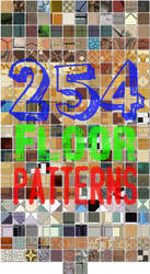 254 Seamless Floor Patterns for Photoshop
