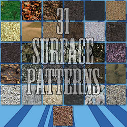 31 Seamless Surface Patterns for Photoshop