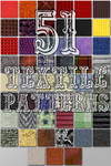 51 Seamless Textile Patterns for Photoshop