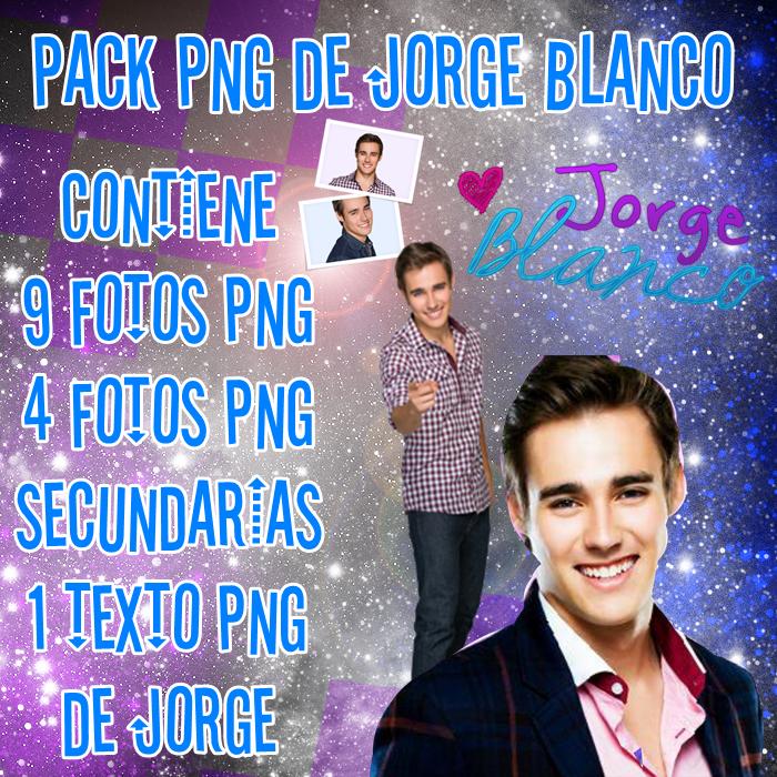 Pack PNG de Jorge Blanco by Belu-Ediciones