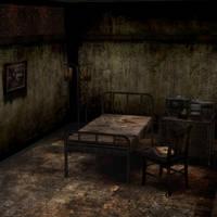 [Silent Hill 3] Alessa bedroom by shprops4xnalara