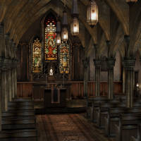 [Silent Hill 3] Cathedral by shprops4xnalara
