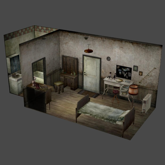 apartment silent hill 4 the room