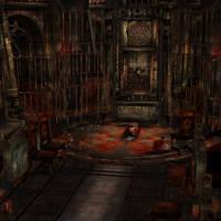 [Silent Hill 3] Cathedral ritual room by shprops4xnalara