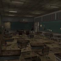 [Silent Hill 3] Classroom by shprops4xnalara