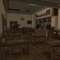 [Silent Hill 3] Happy Burger by shprops4xnalara