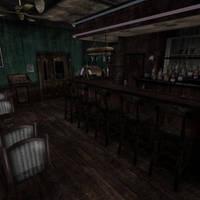[Silent Hill 2] Bar by shprops4xnalara