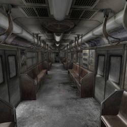 [Silent Hill 3] Subway car by shprops4xnalara