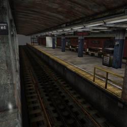 [Silent Hill 3] Subway station by shprops4xnalara